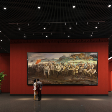 内蒙美术馆新馆-红色题材展厅1.png