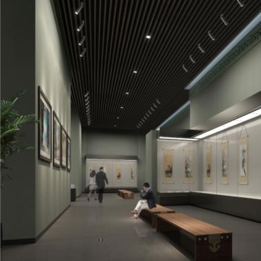 内蒙美术馆新馆-中国画展厅.png