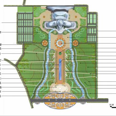 内蒙古少数民族群众文化体育运动中心西侧广场总平面图.png