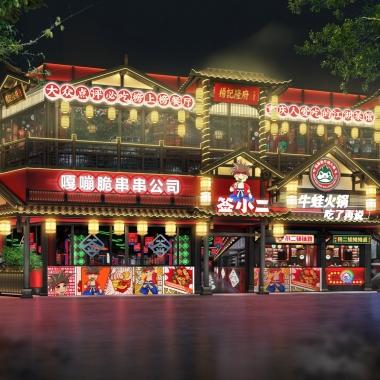 餐飲品牌空間設計 楊敢敢牛蛙火鍋