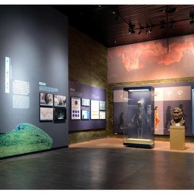 柳州白莲洞古人类遗址博物馆综合陈列楼陈列展览第二标段《洞穴.家园--柳州史前文化陈列》项目
