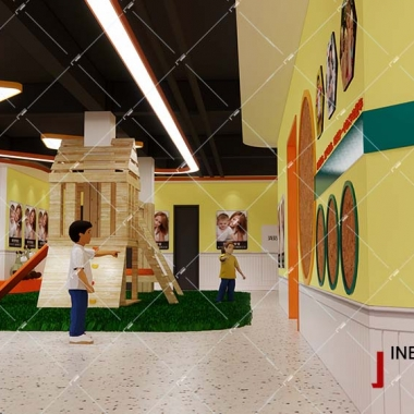 幼儿园大厅玩具设计