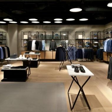 Brinkworth设计的德国Breuninger百货商店男装区