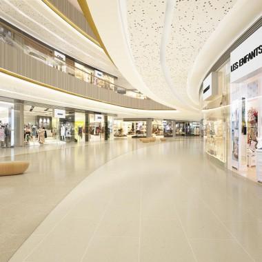 Aedas   天津S商業大廈購物商場室內