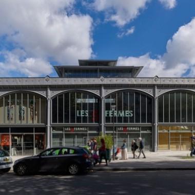 Secrétan 大棚市场 Architecture Patrick Mauger