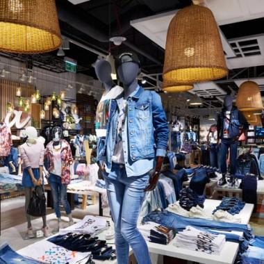 波蘭華沙House Store服裝專賣店空間創意設計