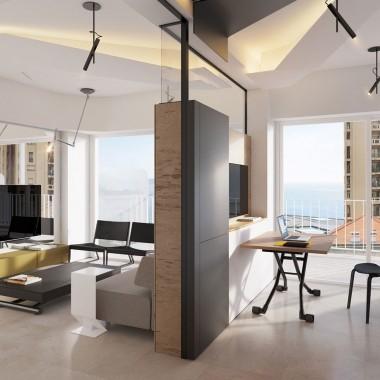 26m² 摩纳哥 Monaco Studio 工作室 - Vlad Mishin
