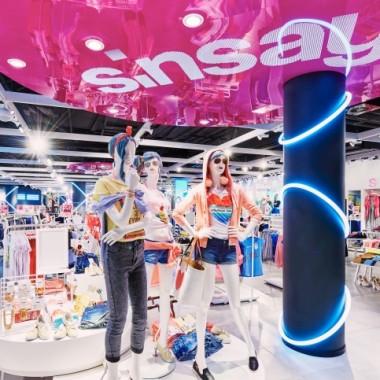 华沙Sinsay女性服装专卖店空间创意设计11890.jpg