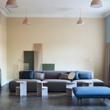 哥本哈根:Muuto家具的共同工作空间变得更简朴