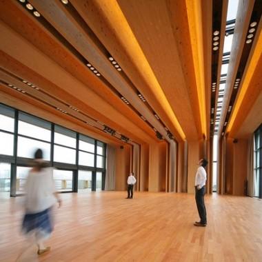 东京木材会馆Mokuzaikaikan  Nikken Sekkei