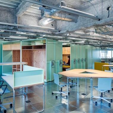 日本工业风音乐办公室总部设计:Schemata Architects6546.jpg